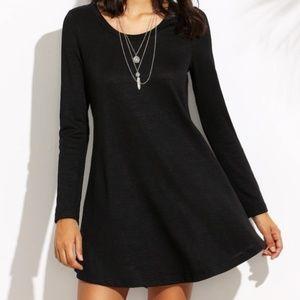 Forever 21 | Ribbed Knit Mini Dress black